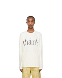 Gucci Off White Thinkthank Long Sleeve T Shirt