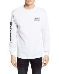 Brixton Palmer Ii Long Sleeve Logo T Shirt