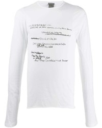 Ann Demeulemeester Printed Cotton T Shirt