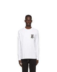 Burberry White Atherton T Shirt