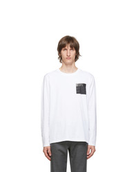 Maison Margiela White Stereotype Long Sleeve T Shirt