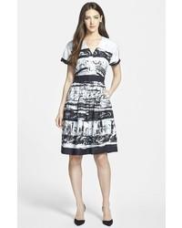 Classiques Entier Fit Flare Silk Dress