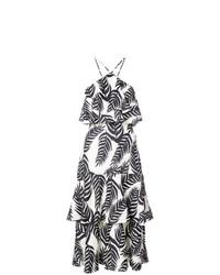 Patbo Palm Print Halterneck Dress