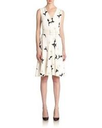 Sportmax Pera Daisy Print Dress
