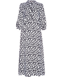 Saint Laurent Star Print Midi Shirtdress