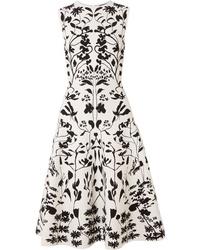 Alexander McQueen Stretch Jacquard Dress