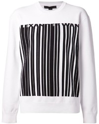 Alexander Wang Barcode Print Sweatshirt