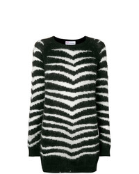 RED Valentino Zebra Stripe Sweater