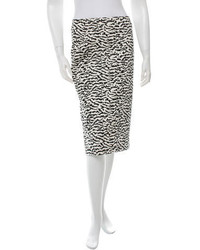 Veronica Beard Printed Pencil Skirt W Tags