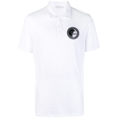 7e3895101 Versace Collection Chest Logo Polo Shirt, $149 | farfetch.com ...