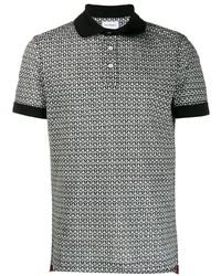 Salvatore Ferragamo Gancini Piqu Polo Shirt