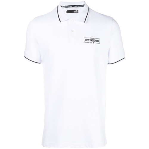 76a40b608 Love Moschino Polo Shirt, $126   farfetch.com   Lookastic.com