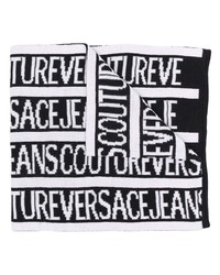 VERSACE JEANS COUTURE Logo Intarsia Scarf