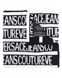 VERSACE JEANS COUTURE Logo Print Oversized Scarf