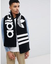 adidas Originals Logo Scarf In Black D98954