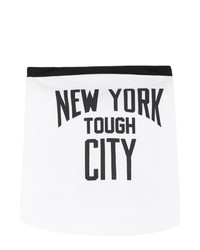TAKAHIROMIYASHITA TheSoloist. White New York Tough City Scarf
