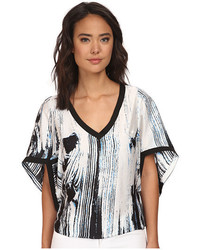 Brigitte Bailey Releve Print Top