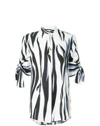 Zebra stripe blouse medium 7736535