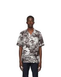 Valentino Black And White Dreamatic Print Shirt