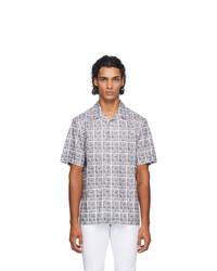 Fendi Black And White Joshua Vides Edition Short Sleeve Shirt