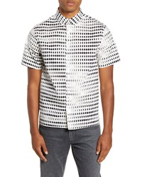Saturdays Nyc Bruce Moon Phase Short Sleeve Shirt