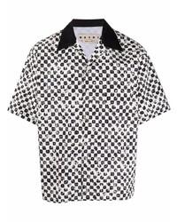 Marni Dice Print Short Sleeve Shirt