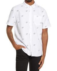 Vans Houser Cherub Print Short Sleeve Shirt