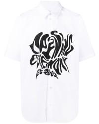 Opening Ceremony Melted Logo Cotton Shirt