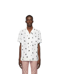 Wacko Maria White Hawaiian Shirt