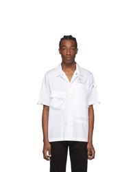 Off-White White Short Sleeve Vert Climb Voyager Shirt