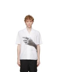 Neil Barrett White The Other Hand Shirt