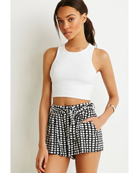 Forever 21 Abstract Print Shorts