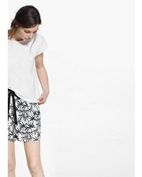 Mango Outlet Printed Shorts