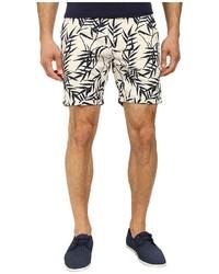 Scotch & Soda Slub Printed Chino Shorts