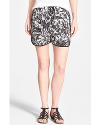 Vince Camuto Two By Jungle Print Drawstring Shorts