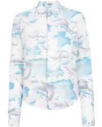 Kenzo Day Clouds Silk Shirt
