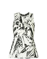 Embroidered sleeveless top medium 7736122