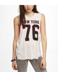 Graphic muscle tank new york 76 medium 25857