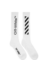 Off-White White Diag Socks