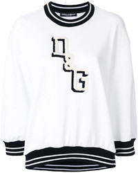 Logo patch sweatshirt medium 6748513