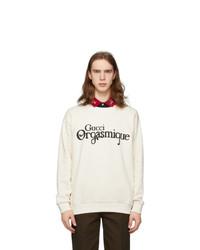 Gucci Off White Orgasmique Sweatshirt