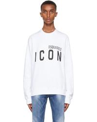 DSQUARED2 White Icon Sweatshirt