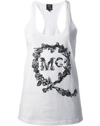 McQ by Alexander McQueen Logo Print Vest Top