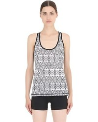 Prana printed performance jersey tank top medium 438401