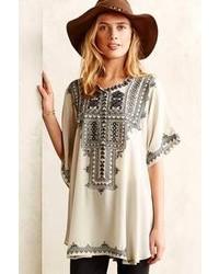Biya Decca Silk Tunic
