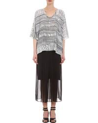 Unravel knit print tunic medium 99089