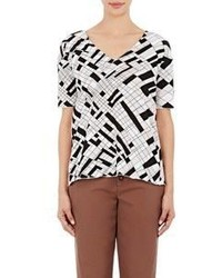 Marni Open Back T Shirt Tan Size 38it