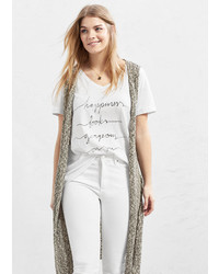 Violeta BY MANGO Message T Shirt