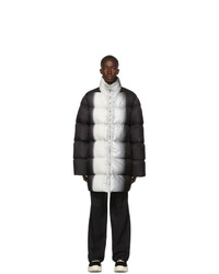 Rick Owens Black Down Jumbo Duvet Jacket