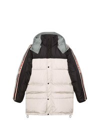 Gucci Nylon Coat With Stripe